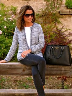 Fashion and Style Blog / Blog de Moda . Post: Zara Jacket / Chaqueta de Zara See more/ Más fotos en : http://www.ohmylooks.com/?p=3145 OhMyLooks by Silvia García Blanco