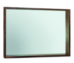 Akita Walnut Wall Mirror