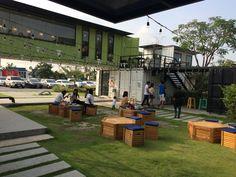 JONY THAI - 조니 타이 ⓒ 2016 :: 친 환경 카페 - 낡은 화물 컨테이너 박스가 재 탄생한 ' 띵크 (Think Cafe) 카페를 아십니까?