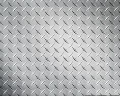 diamond-plate walls in seafood and meat