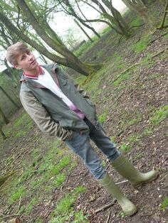 Dunlop wellies--expensive as they are--are becomingly increasingly popular with teenage school boys [courtesy of Urban Wellies]