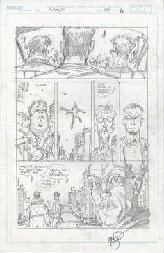 Spawn #199 pg 6 Comic Art