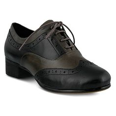 1986da12dc Spring Step Women's Kiley Leather, Rubber Oxfords Oxford Boots, Oxford  Heels, Women Oxford