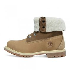 Timberland 8330R W/L Authentics Teddy Fleece Lined Boots Taupe