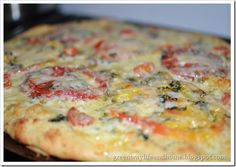 ... White pizza on Pinterest | White pizza, White pizza dip and Roasted