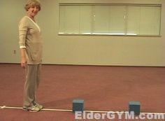 Dynamic balance exercises