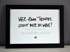 """Druck """"Oh, das bin ja ich"""" // print by Formart via DaWanda.com"""