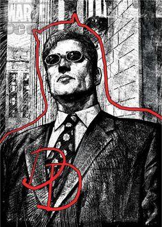 Alex Maleev on Daredevil