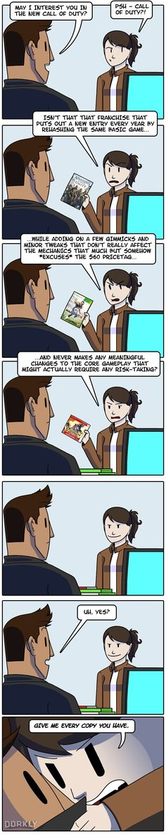 """""""The Truth About Call of Duty"""" #dorkly #geek #callofduty"""