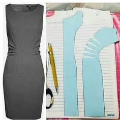 Pdf Sewing Patterns Dress Patterns Sewing Clothes Diy Clothes Pattern Drafting Pattern Making Sewing Techniques Dressmaking Pattern Design Coat Patterns, Dress Sewing Patterns, Clothing Patterns, Shirt Patterns, Coat Pattern Sewing, Fashion Sewing, Diy Fashion, Fashion Coat, Costura Fashion