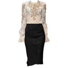 Dolce&Gabbana-editedbyelfemme ❤ liked on Polyvore featuring dresses, vestidos, edits, doll clothes, doll dress, baby doll dress, dolce gabbana dress and babydoll dress