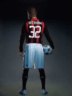 David Beckham - AC Milan photoshoot - 2008