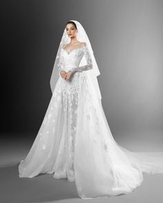 Beautiful Wedding Gowns, Perfect Wedding Dress, Dream Wedding Dresses, Bridal Dresses, Beautiful Dresses, Zuhair Murad Bridal, Zuhair Murad Dresses, Glamour, Bridal Collection