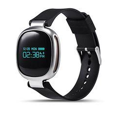 LEMFO E08 Smart Bracelet Fitness Tracker Dynamic Heart Rate Monitor Smart Band Bluetooth IP67 Waterproof Swimming Sport Wristband for IOS Android (E08 Black) - http://www.exercisejoy.com/lemfo-e08-smart-bracelet-fitness-tracker-dynamic-heart-rate-monitor-smart-band-bluetooth-ip67-waterproof-swimming-sport-wristband-for-ios-android-e08-black/fitness/