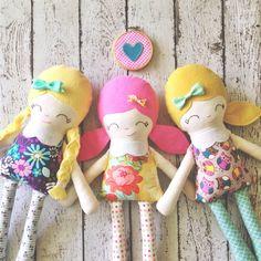 Image of Custom Little Miss Rag Doll