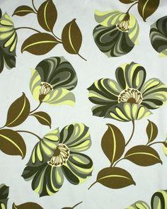 Amy Butler Cotton - Grandiflora Hunter - florall pattern fabric