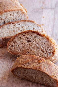 The Daily Dietribe: 5-Ingredient Mondays: Easy French Bread (Gluten/Dairy/Egg/Nut/Yeast-Free) http://www.thedailydietribe.com/2013/01/5-ingredient-mondays-easy-french-bread.html
