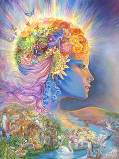 INTUITION Josephine Wall Nature's Whisper
