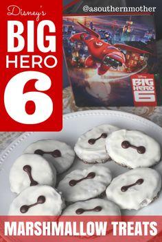 MARSHMALLOW TREATS INSPIRED BY DISNEY'S BIG HERO 6