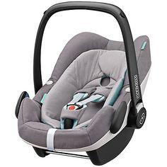 £190 Buy Maxi-Cosi Pebble Plus i-Size Group 0+ Baby Car Seat, Concrete Grey Online at johnlewis.com