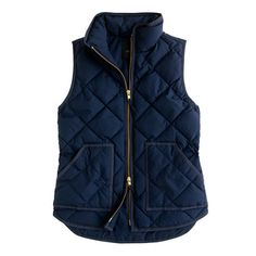 J. Crew Excursion Quilted Vest... Just added this beauty to my closet!
