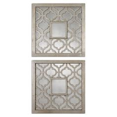 I pinned this Sorbolo Wall Mirror - Set of 2 from the Glitz & Glam event at Joss and Main!