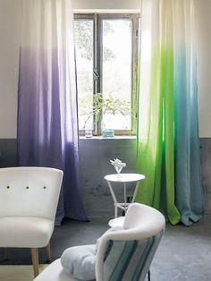 Ombre curtains   Designers Guild