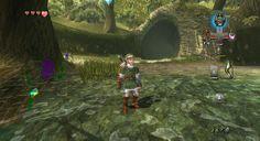 The Legend of Zelda: Twilight Princess 1080p  - Bosque de Farone