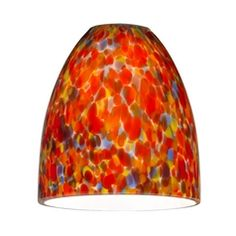 Mosaic Glass Shade - Lipless with 1-5/8-Inch Fitter Opening at Destination Lighting