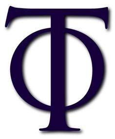 Phi Tau - Wikipedia, the free encyclopedia Jerusalem, Greek, Logo, Pictures, Photos, Logos, Greece, Grimm, Environmental Print