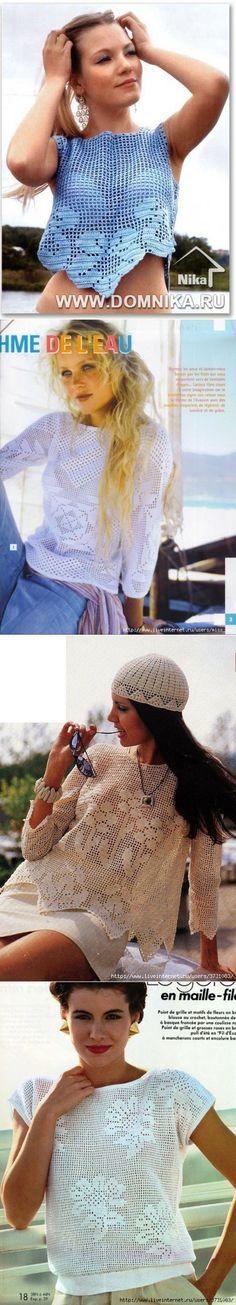 Филейное вязание | З