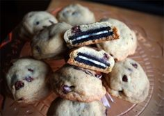 Oreo-filled chocolate chip cookies by Clara's Cakes(photo credit goes to quarrygirl).