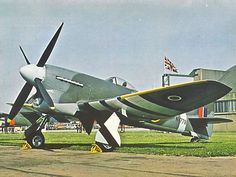Vintage Planes Hawker Tempest (AKA The Hunter Hawker Tempest Have 20 Kills againt The Me Aircraft Parts, Ww2 Aircraft, Fighter Aircraft, Military Aircraft, Air Fighter, Fighter Pilot, Fighter Jets, Hawker Tempest, Me262