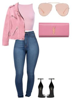 """""""Hotlinebling ☎️☎️"""" by amoney-1 ❤ liked on Polyvore featuring Yves Saint Laurent and Rebecca Taylor"""