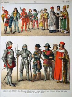 History Of Costumes From Ancient Until 19th C