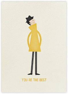 Yellow Coat (Blanca Gomez) - Paperless Post
