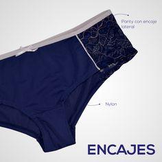 Si no te gustan los panties solo con #encajes, llévalos de Nylon, que es un material suave y delicado con tu piel. Haz que todo #encaje con tu vida