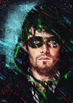Stephen Amell fan art #Arrow