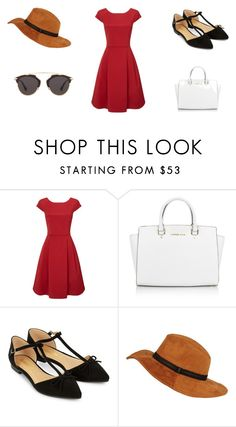 """""""<3"""" by niurkajm on Polyvore featuring moda, Michael Kors, Accessorize y Christian Dior"""