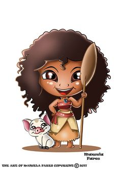MOANA #disney #chibi #artfun #characterdesign #digitalpaint #paint #painting #design #artwork #artworld #artistic #artist #art #fantasy #creative #creativart #creation #baby #character #female #lady #cartoneanimato #disneyland #moana #oceania
