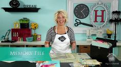 Memory File Ideas & Tips by Heidi Swapp. Discover quick ways to add photos and flip books inside my Memory Files.  See new products and how easy they can be used to create a Memory File full of memories.
