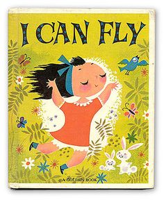 I Can Fly #vintage #book (I own a new version of this book).