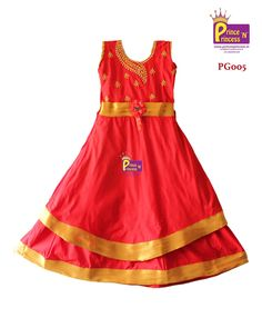 Kids Red Party Gown . Kids Gown For Birthday Functions . Buy Online . US , UK Australia International Shipping