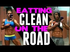 DLB EATING CLEAN ON THE RUN (she always cracks me up!)