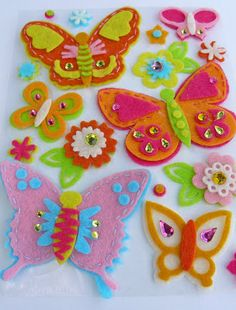 SCRAP A LITTLE!: Butterflies-tutorial and challenge made using template...