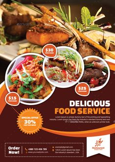 Buy Food Flyer by themexone on GraphicRiver. This Food Flyer template can be used for any business purpose like Restaurant or others projects. Restaurant Poster, Restaurant Menu Design, Restaurant Restaurant, Restaurant Identity, Food Poster Design, Food Menu Design, Food Menu Template, Flyer Template, Brochure Food