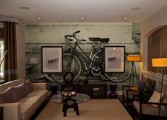 When in Paris, drive your way around by bicycle! Furnish your room with any vintage themed wallmurals exclusive from InkShuffle! Plenty of discounts plus free shipping!