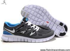 separation shoes 4e3f5 c4548 Discount Size 12 443815-108 Nike Free Run 2 Cool Grey White Black Varsity  Royal