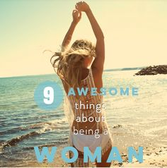 On 8th March we celebrate International Women's Day ! These are 9 awesome things women LOVE about being a Woman