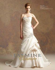 Jasmine Bridal - Style T152007 Fabric: Encore Train Length: Tiffany train